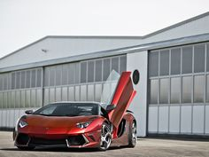 Dream car..... the Lamborghini Aventador