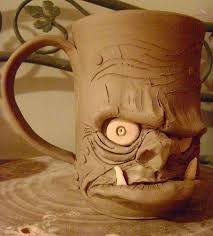 Resultado de imagem para diy clay mug
