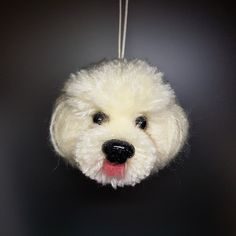 Pom pom dog Handcraft