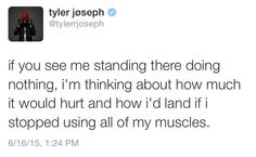 Tyler Joseph is my spirit animal. Band members are my spirit animal