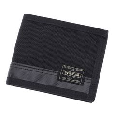 Porter Heat Wallet. Ref : 703-0976. Size: W120/H100. Color : Black. Main Fabric: Ballistic Nylon Canvas ( Nylon 100 %). Bottom of the bag : Tarpouline Lining Fabric: Nylon Canvas ( Nylon 100% ). Additional: Each bag comes with a porter orifinal Maglight as a zip puller.