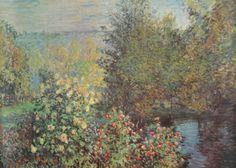 Le Jardin des Hoschede by Claude Monet