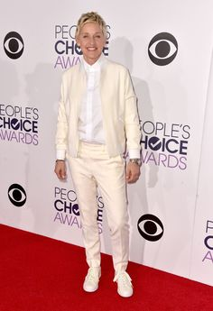 DeGeneres arrives at the People's Choice Awards Wednesday. Photo: Frazer Harrison/Getty Images for The People's Choice Awards