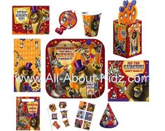 Madagascar 3 Party Supplies are now available!