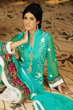 Latest Pakistani Pret Shalwar Kameez Trouser  Pret 92