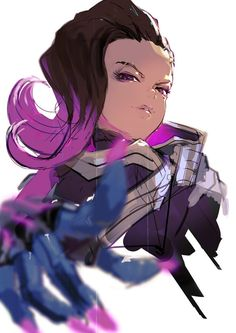 Overlord Meets Overwatch Again As Artist Posts Sombra Tribute