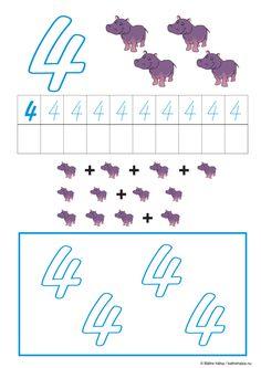 lära sig räkna, räkna, matte, räkna till tio, pyssla och lek, bättre hälsa, pyssel för barn, barnpyssel, matte, matematik, mattepyssel, pyssel, knep och knåp, räkna till 4, fyra Mathematics, Cool Kids, Preschool, Teacher, Fun, Inspiration, Numbers, Math, Biblical Inspiration