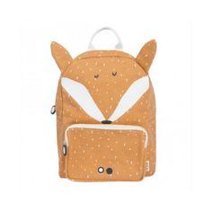 Plecak - Lis - Rudy - Triexie Animal Backpacks, Grey Backpacks, Kids Backpacks, Animal Fashion, Boy Fashion, Baby Backpack, School Bags For Kids, Girls School, Fox Print