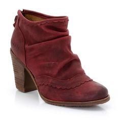 Boots cuir zippées, Dkode