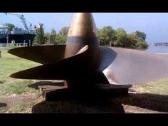 Propeller from the USS North Carolina Battleship