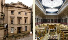 "The ""Lit and Phil""  - The Literary & Philosophical Society (Lit & Phil) is the largest independent library outside London, housing over 160,000 books in Newcastle-upon-Tyne, England · http://www.litandphil.org.uk"
