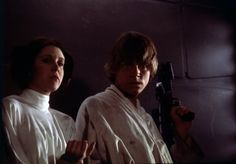Luke and Leia
