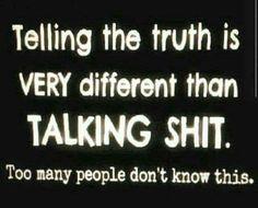 ~TALKIN' SHIT~