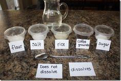 what dissolves?