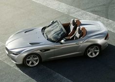 BMW Zagato Roadster Concept. Oh how I love to drive!