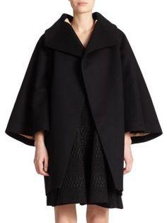 DSQUARED2 Lucille Cape Coat. #dsquared2 #cloth #