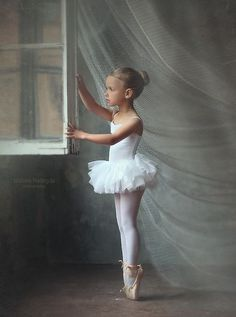 I love this picture. Not sure if she should be on pointe, she looks so young. Regardless, I love the picture.