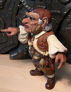 labyrinth figure | Labyrinth Hoggle figure side 2 by ~Skulpturen on deviantART