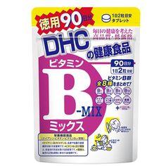 DHC Витамины B-Mix (180 гранул на 90 дней) - Витамины группы В обеспечивают нормальное функционирование нервной системы и иммунной системы