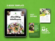 Ad: Recipe Book Template Cookbook by rivatxfz on ★★ Get ebook design template with off discount (life time updates!) when you purchasing my big bundles 15 ebook templates Sheets! Recipe Book Templates, Cookbook Template, Keynote Template, Brochure Template, Resume Templates, 26 November, Cover Template, Presentation Templates, Vegetarian