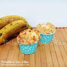 Cuca de Banana na AirFryer | Fritadeira sem Óleo - AirFryer