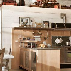 Cozinha Vintage Panamera da Marchi Cucine no Arkpad - Arkpad
