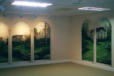 trompe loeil | Trompe LOeil Arches in Wyomissing...Trompe LOeil and Murals Painted ...