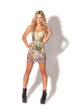The Hobbit Map Dress £75 roughly