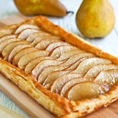 A sweet Ginger Pear Puff Pastry Tart.... Followed full recipe. Just instead of a tart I made them into individual sandwich. And add mascarpone cheese. Yummy