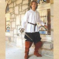 Swordsman Shirt for Children | Renaissance Model