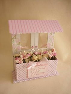 Mothers Day Window Box by Teglow - Cards and Paper Crafts at Splitcoaststampers
