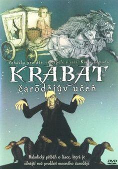 Krabat - The Sorcerer's Apprentice (Čarodějův učeň) by Karel Zeman 1978 Kino Box, The Sorcerer's Apprentice, English Play, Toy Story 3, Fantasy Films, Typography Prints, Film Director, Animation Film, Live Action