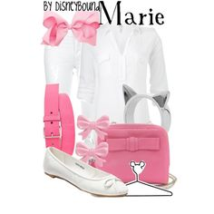 """Marie"" by lalakay on Polyvore... Is it weird I love the white sparkly jeans?"