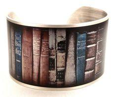 Bracelet de livre, livre Vintage photo, livre bijoux, cadeaux pour les lecteurs