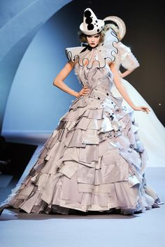 Christian Dior Fall 2011 Couture collection.