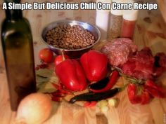 Here your going to find a oh so delicious collection of Chili Con Carne Recipes. If your looking for a delicious Chili Con Carne Recipe you'll find it here. So why not get busy making chili today. Best Texas Chili Recipe, Great Chili Recipes, How To Cook Chili, Chili Cook Off, Cooking Chili, Best Chilli Con Carne, Con Carne Recipe, World's Best Food, Homemade Chili