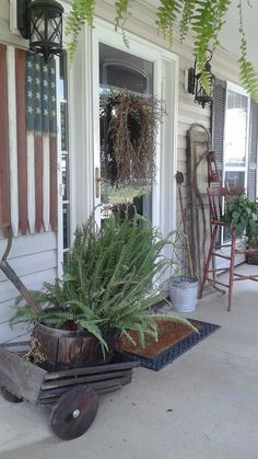 Prims on the Porch