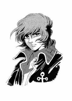 Derek Wildstar Star Blazers, Space Pirate, Battleship, Art Reference, Trek, Pirates, Manga Anime, Badass, Character Design