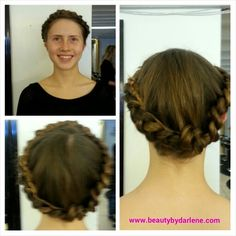 Check out Jordan's braid wrap style from my first weekend @ @kimberly_clarke_salon