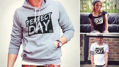 """Wer wünscht ihn sich nicht, am besten jeden Tag - den """"Perfect day""""! Auch unsere Band Junk DNA feiert den perfekten Tag mit ihrem neuen Song """"Perfect Day"""" und der dazu passenden neuen Kollektion.  Jetzt perfekt einkleiden auf: http://urichdesign.com/junk-dna"""