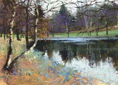 """Still Water"" - Original Fine Art for Sale - © Nigel Fletcher"