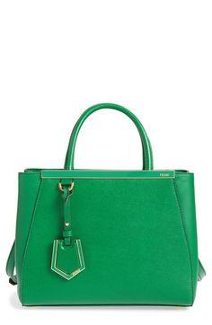 368c364a5f8f Fendi  Petite 2Jours Elite  Leather Shopper
