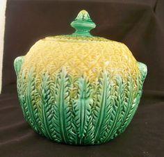 Pineapple sugar bowl
