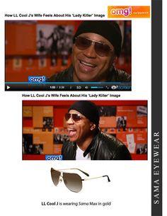 c06e7ab607c LL Cool J is wearing Sama Eyewear