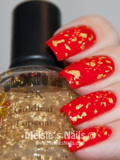 These kind of nails look cool. It would also look good if you painted them as the same day of the Chinese new year.