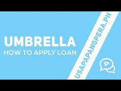 Umbrella is designed to give quick and easy access to affordable financial services. Starting with short-term loans with minimal documentation. Umbrella does. Lending Company, Apps, How To Apply, Education, Videos, Philippines, Youtube, Men, Guys