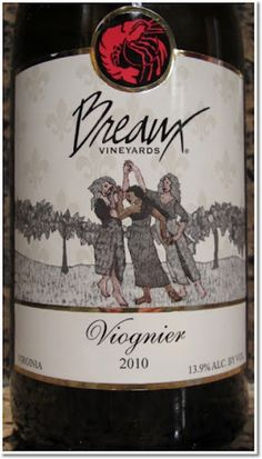 "Breaux Vineyards' Viognier was recently featured on Oz Clarke's ""Top 250 Wines in 2012""."