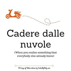 Day 13 of 100 Days of Italian Idioms by instantlyitaly.com