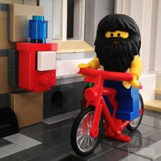 Hipster Lego collection x The Guardian Epic Beard, Tricycle, The Guardian, Lego, Cute, Beards, Inspiration, Collection, Hipster
