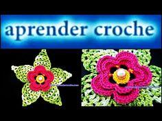 Folha da flor damares em crochê # Elisa Crochê - YouTube